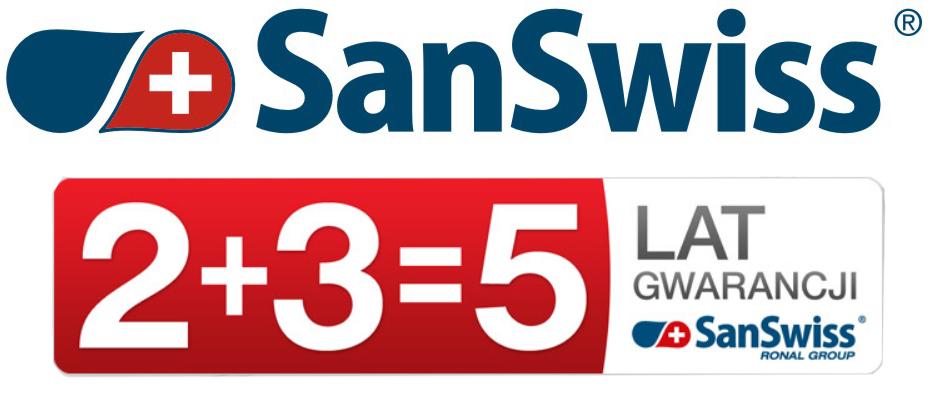 sanswiss-logo-olsztyn-ceamoteka-5-lat-gwarancji